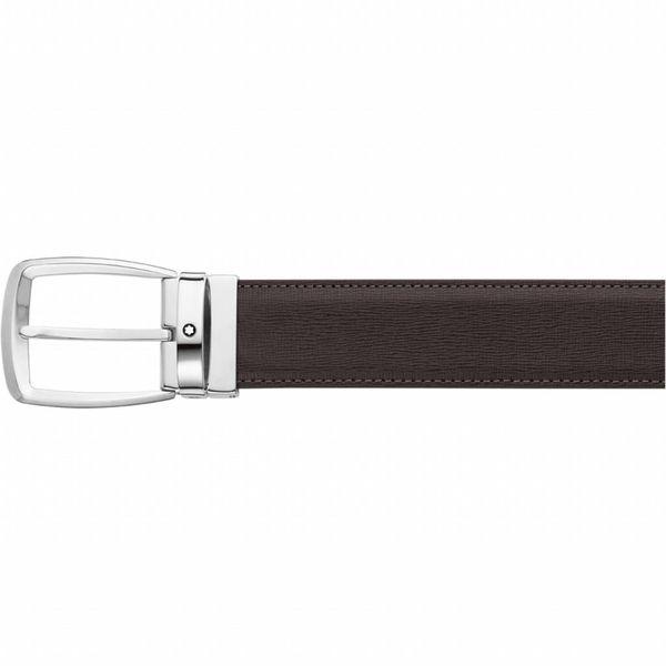 Classic Line dk brown palmellato printed strap