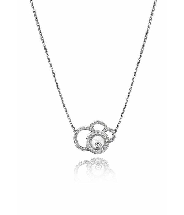 Chopard Happy diamonds witgouden collier