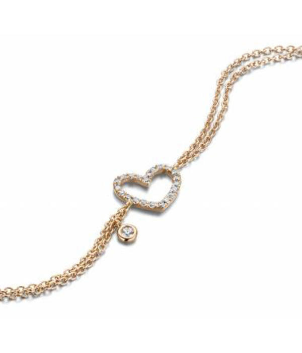 SC Jewellery Bracelet Heart open