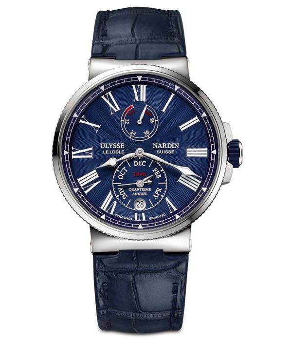 Ulysse Nardin Marine 43mm Chronometer Annual Calendar (1133-210/E3)