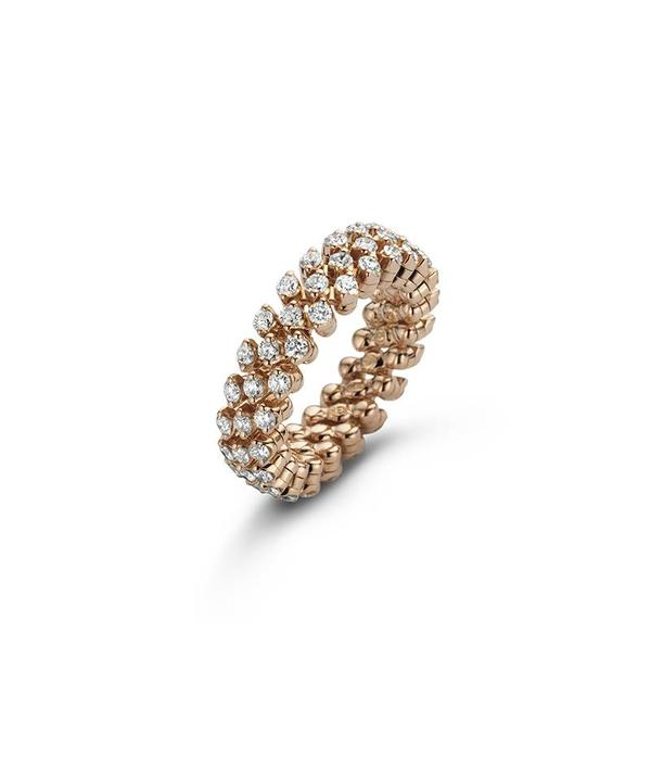 Serafino Consoli ring alliance multi size 3 rows