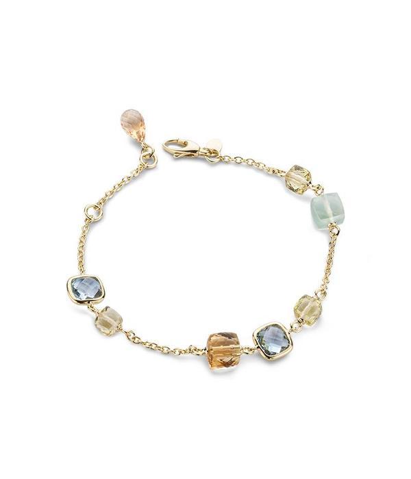 Schaap en Citroen Colours yellow gold 18 carat bracelet