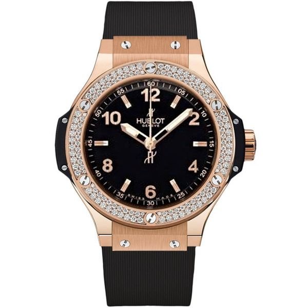 Big Bang Gold Diamonds 38mm