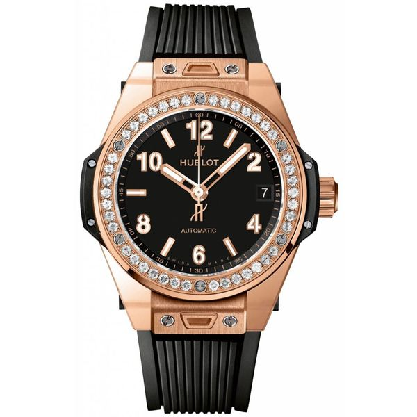 Big Bang One Click King Gold Pave 39mm
