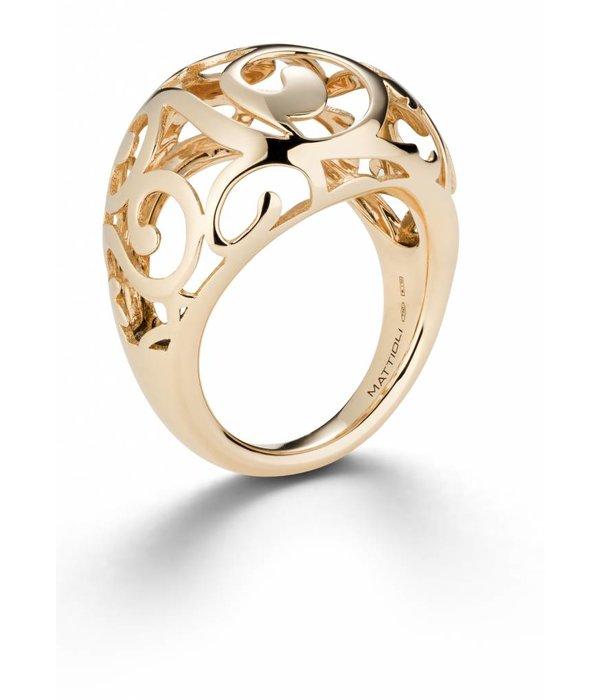 Mattioli Siriana Rose Gold Ring [MAN083R010]