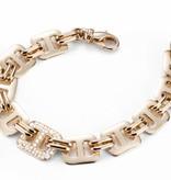Mattioli Liason Rose Gold Bracelet with paved diamond [MBR112R010]
