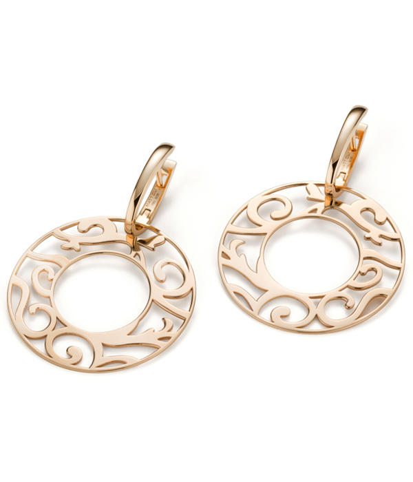 Mattioli Siriana rose gold earrings [MOR083R037]