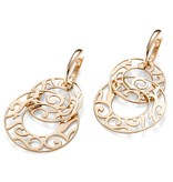 Mattioli Siriana rose gold earrings [MOR083R036]