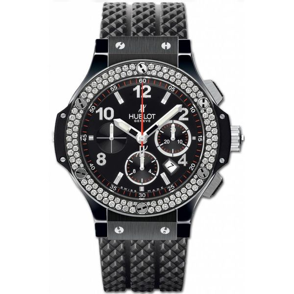 Big Bang Chronograph Black Magic Diamonds 44mm