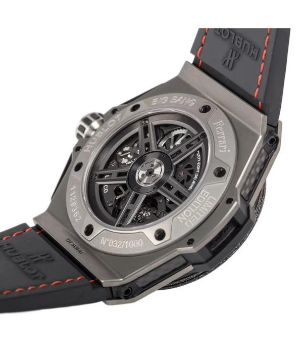 Hublot Big Bang Ferrari Titanium Carbon 45mm (401.NJ.0123.VR)