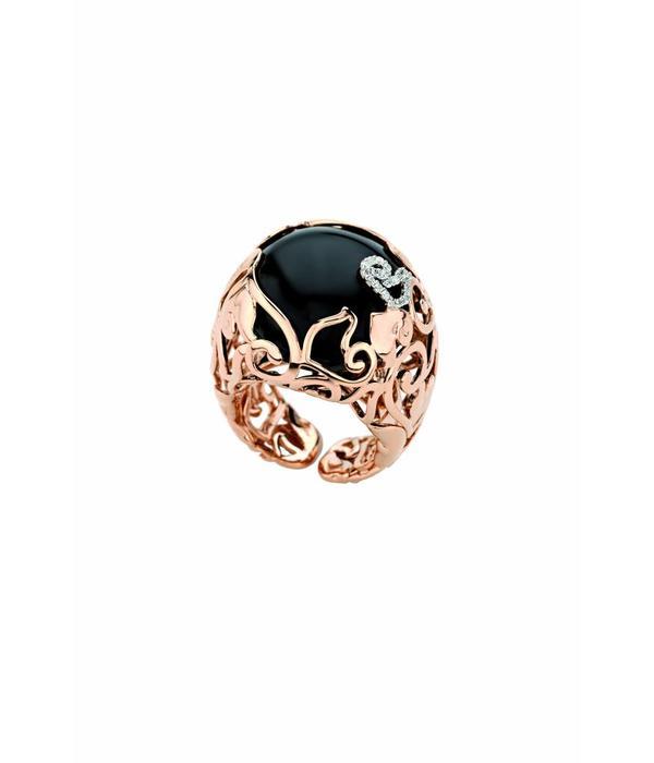 Chantecler Rose Gold 18 carat Diamour Folies Ring