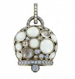Chantecler Rose GOld 118 carat Capri 1947 Pendant
