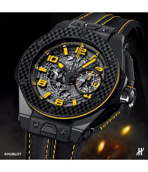 Hublot Big Bang Ferrari Ceramic Carbon (401.CQ.0129.VR)