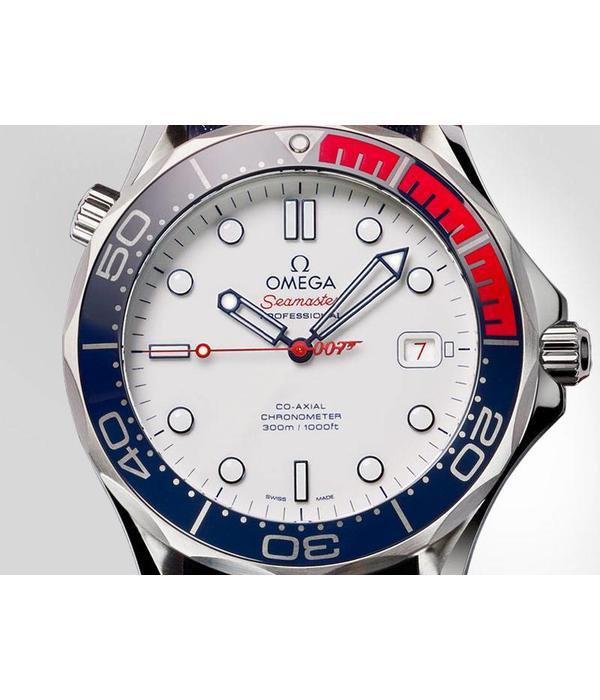 "Omega Seamaster Diver 300m James Bond 007 ""Commander's Watch"" Limited Edtion"