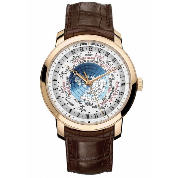 Traditionnelle 42mm World Time