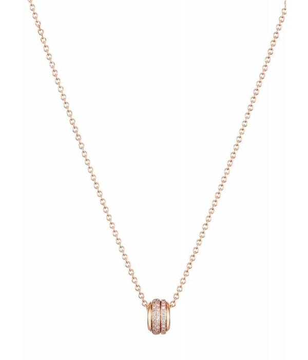 Piaget Possession pendant in 18K pink gold set with 66 brilliant-cut diamonds [approx. 0.60 ct]