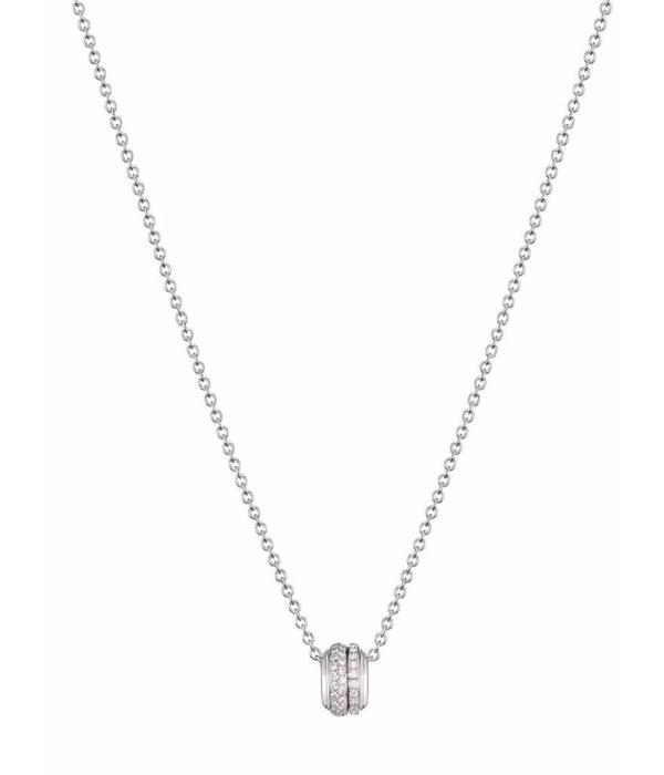 Piaget Possession pendant in 18K white gold set with 66 brilliant-cut diamonds [approx. 0.60 ct]
