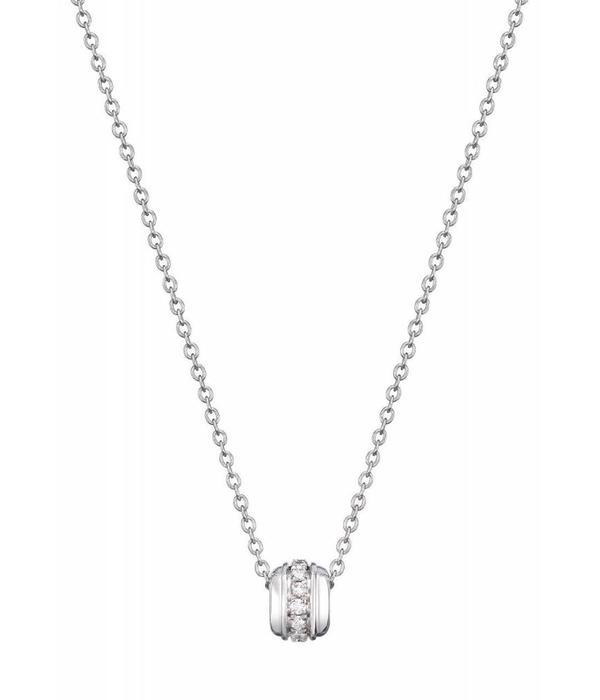 Piaget Possession pendant in 18K white gold set with 14 brilliant-cut diamonds [approx. 0.12 ct]