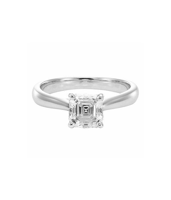 Royal Asscher ring solitair