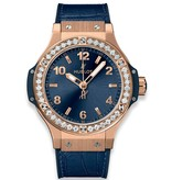Hublot Big Bang Gold Blue diamonds (361.PX.7180.LR.1204)