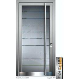 Aluminium Haustür HT 5471 GLA