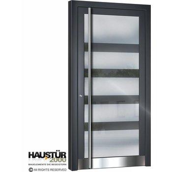 Aluminium Haustür HT 5501 GLA