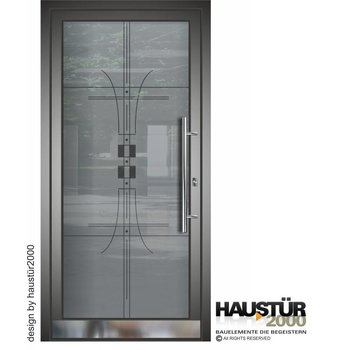 Aluminium Haustür HT 5487 GLA
