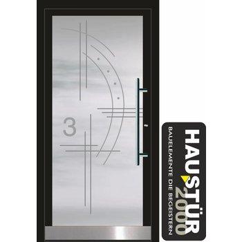 Aluminium Haustür HT 5486 GLA