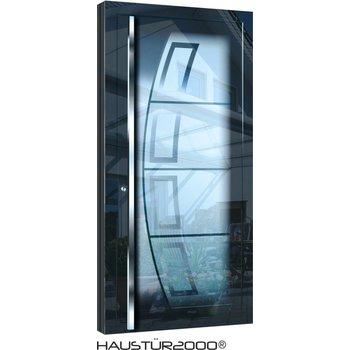 Aluminium Haustür HT 5457 GLA HL
