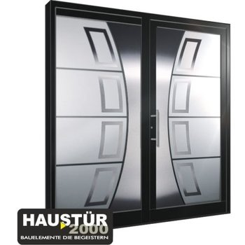 Aluminium door HT 5457 GLA SF