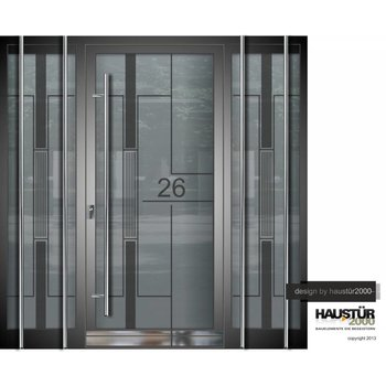 Aluminium Haustür HT 5479 GLA 2SF