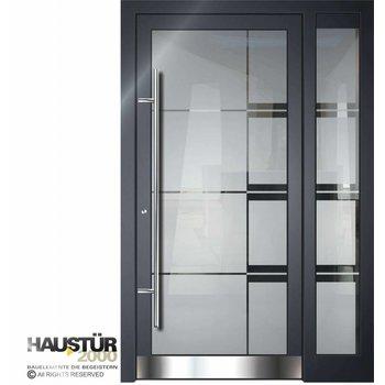 Aluminium Haustür HT 5502 GLA SF
