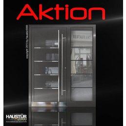 Aluminium Haustür Aktionsmodell SF1
