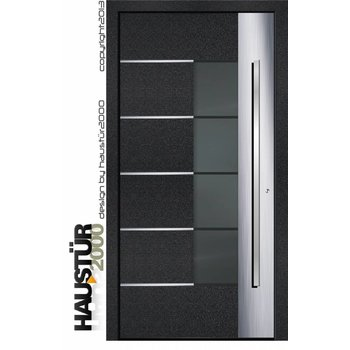 Aluminium door Model HT 6341 FA