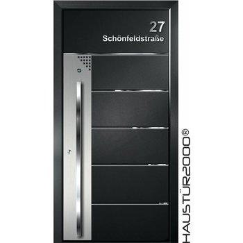 Aluminium Haustür HT 5414 FA