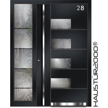 Aluminium Haustür HT 5312 SF FA
