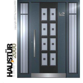 Aluminium Haustür HT 6336 2SF FA