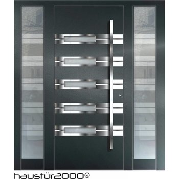 Aluminium Haustür HT 6339 2SF FA