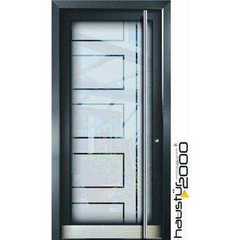 Aluminium door HT 5490 GLA
