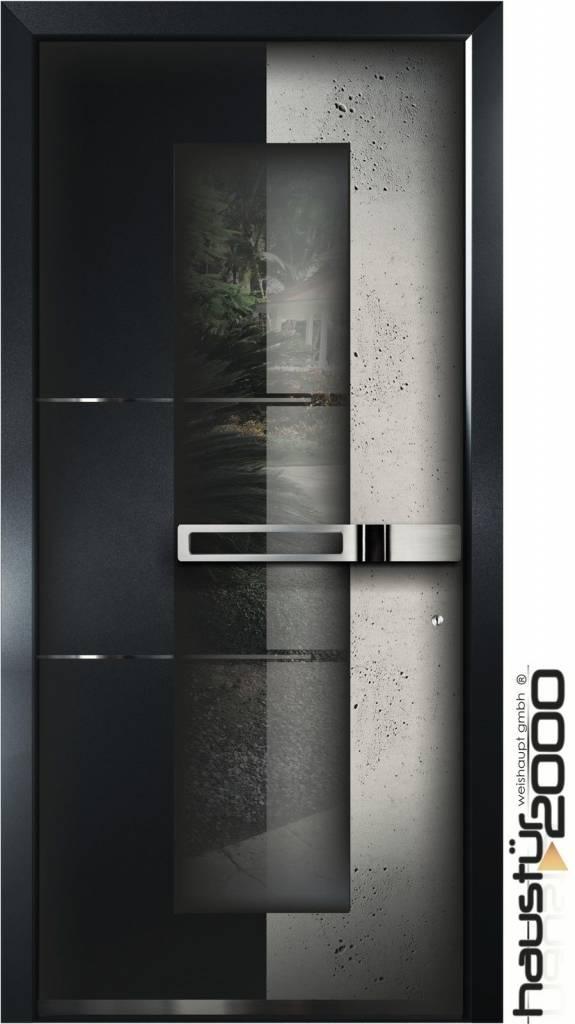 aluminium haust r ht 6598 fa beton art. Black Bedroom Furniture Sets. Home Design Ideas