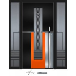 Aluminium Haustür CW-457 SFF