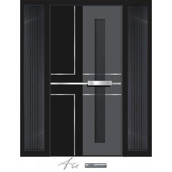 Aluminum door CW 459 SFF