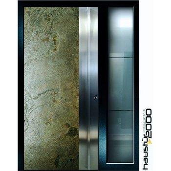 Aluminum door HT 5417.8 GL SF stainless steel