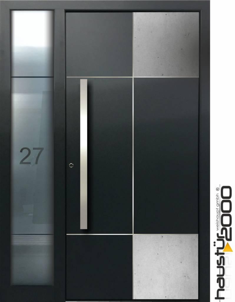 aluminium haust r ht 9350 fa beton art. Black Bedroom Furniture Sets. Home Design Ideas