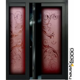 Aluminum door HT 551 RSGLA SF