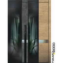 Aluminum door CW 904 RS SF