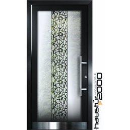 Aluminum front door HT 5509 GLA