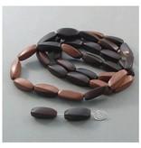 Kamagong Holz Perle 23 mm