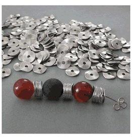 Metall Scheibe gewellt 10 mm