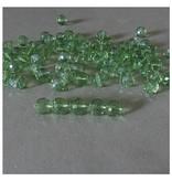 Glas Perlen facettiert - 1 VE